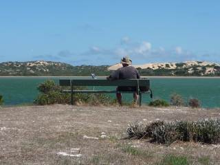 Long Point, great vieuws of the Coorong