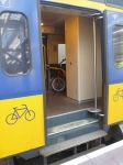 Stairs in NS intercity to bike storage
